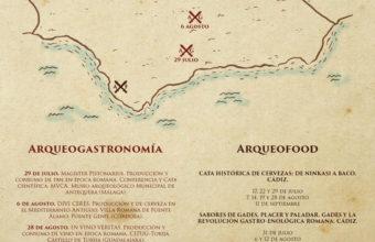 Experiencias de Arqueogastronomía y Arqueofoodtour en agosto y septiembre