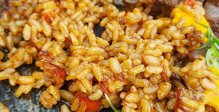 El arroz de La Janda de El Ibis Restaurante
