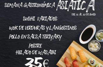 Semana gastronómica asiática en Hontoria de Jerez del 12 al 22 de junio