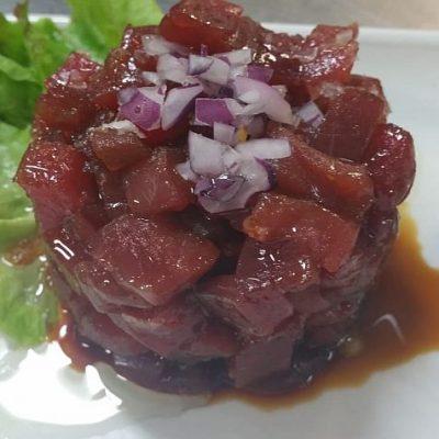 El atún rojo es una de las especialidades del local.