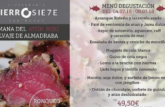 Del 4 al 7 de julio. Rota. Jornadas gastronómicas del atún en el Restaurane Gastrobar Hierro Siete