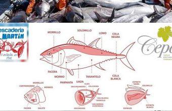 1 de junio. Algeciras. Ronqueo de Atún Rojo de Almadraba en el Restaurante Cepas