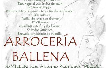 Cata de los cinco sentidos en La Ballena