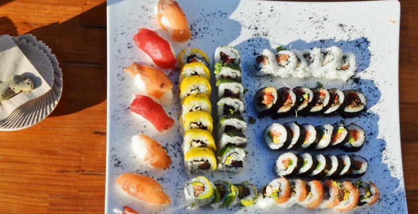 Jornada dedicada al sushi en Feduchy Playa de Conil el 14 de junio