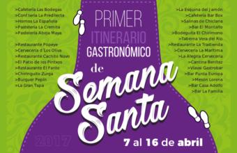 7 al 16 de abril. Chiclana. Itinerario gastronómico de Semana Santa