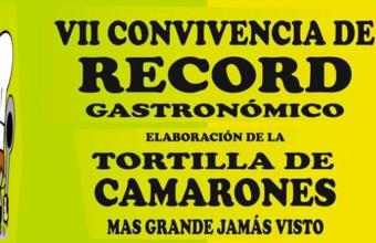 11 de marzo. Sanlúcar. Tortilla de camarones gigante