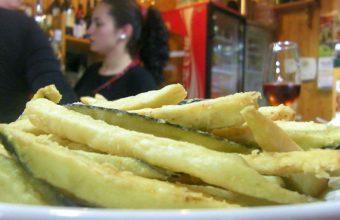 Las berenjenas fritas del bar El Canijo