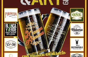 Festival de cerveza artesana con música en directo en Puerto Real