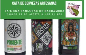 Cata de cervezas artesanales Blanca y Verde en Sanlúcar