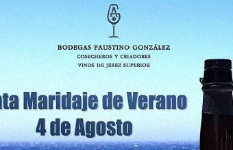 4 de agosto. Jerez. Cata maridaje de verano en Bodegas Faustino González