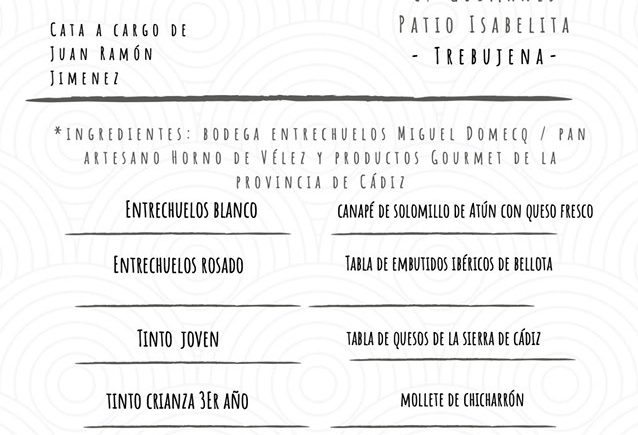 Cata de Bodegas Entrechuelos el 9 de noviembre