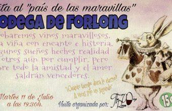 11 de julio. El Puerto. 'Viaje al país de las maravillas' de Bodegas Forlong