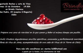 Degustación Bochas y cata de vinos de Cádiz