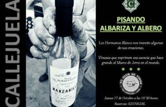 """""""Callejuela. Pisando Albariza y albero"""", el 17 de octubre en The Wine Room de San Fernando"""
