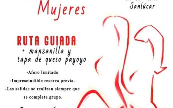 Ruta guiada con degustación Sanlúcar a través de las mujeres