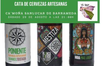 Cata de cervezas artesanas en Ca'Moña Sanlúcar