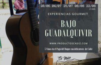 Cata maridaje en el Bajo Guadalquivir