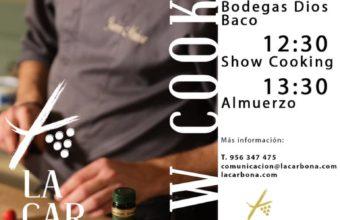 Exhibición de cocina en La Carboná de Jerez