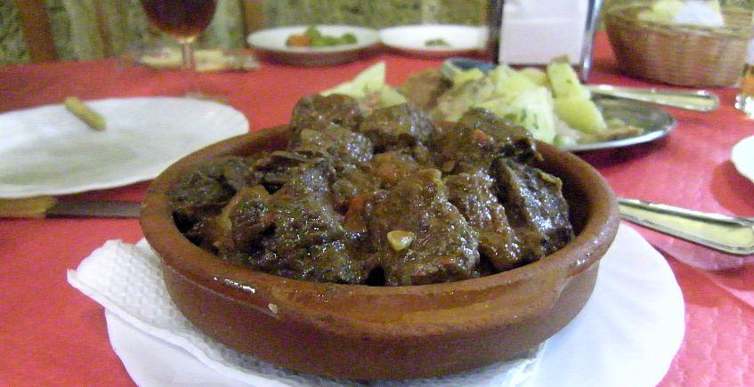 Ficha De Receta La Carne Al Toro Del Bar De La Peña De Cazadores De Cádiz