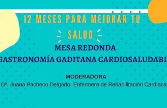 28 de mayo. Cádiz. Mesa redonda sobre gastronomía gaditana cardiosaludable