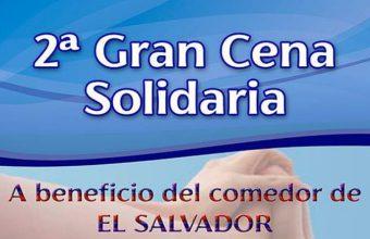 10 de febrero. Jerez. Gran cena solidaria a beneficio del comedor de El Salvador