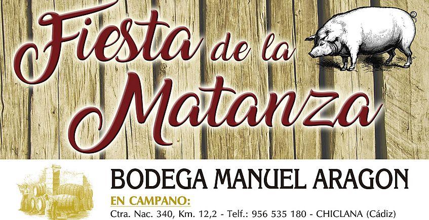 14 de abril. Chiclana. Fiesta de la Matanza de Bodega Manuel Aragón