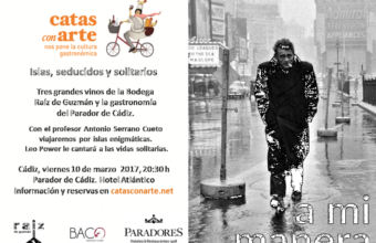 10 de marzo. Cádiz. La soledad en Catas con Arte