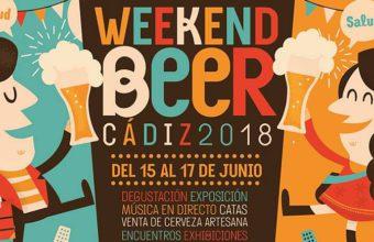 Del 15 al 17 de junio. Cádiz. Festival cervecero Weekend Beer en el Baluarte de la Candelaria