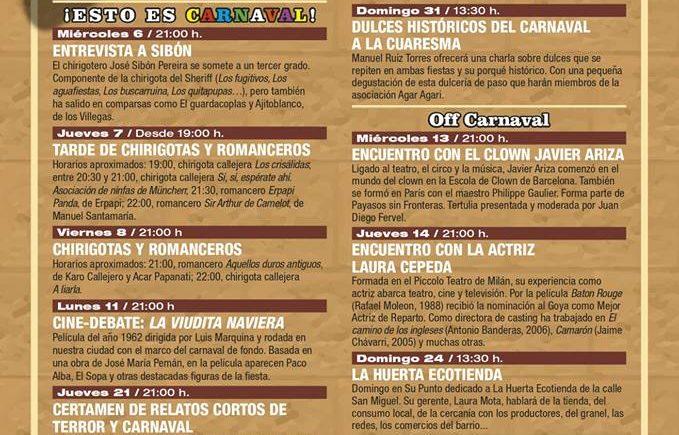 Del 16 al 31 de marzo. Cádiz. Programación gastronómica en La Casapuerta