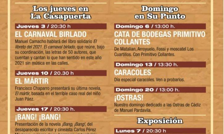 Ostras, caracoles, cata y exposición en La Casapuerta de Cádiz