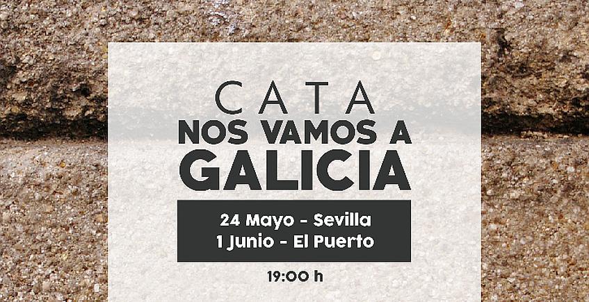 1 de junio. El Puerto. Cata con vinos gallegos