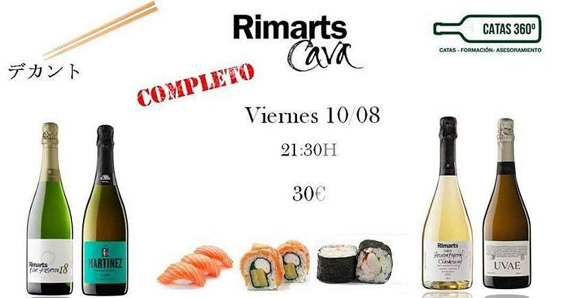 10 de agosto. Algeciras. Cata de cavas y sushi en El Decantador Ecotienda