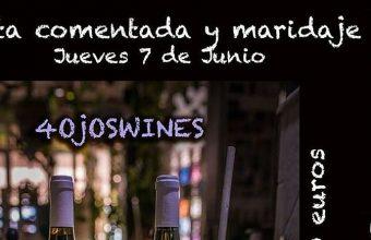 7 de junio. El Puerto. Cata comentada y maridaje de 4ojoswines