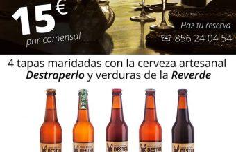 12 de julio. Jerez. Cata maridaje de cerveza Destraperlo y verdura ecológica de Reverde