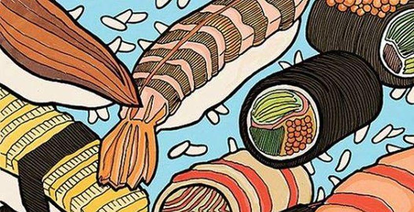 31 de marzo. Rota. Cata en el Colmado Santa María con Sushi Style.