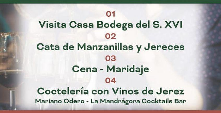 17 de agosto. Sanlúcar. Visita, cata, cena y coctelería en Bodegas Portales Pérez