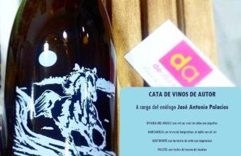 Cata de vinos de autor de José Antonio Palacios en Dealbariza