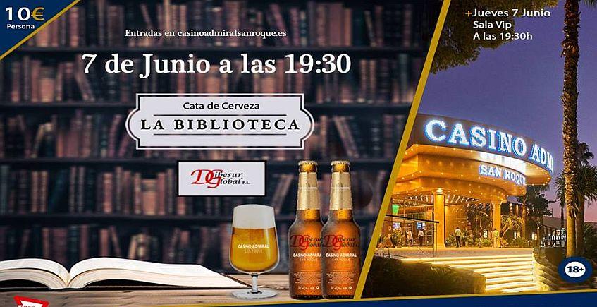 7 de junio. San Roque. Cata de Cerveza en el Casino Admiral