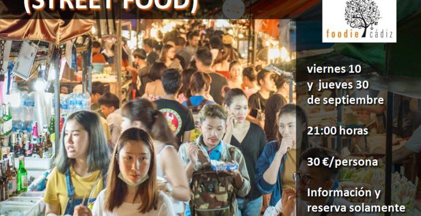 Cata comida callejera en Foodie