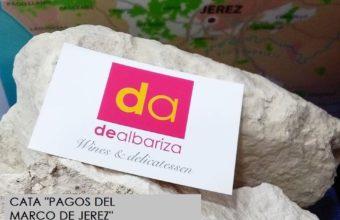 Cata Pagos del Marco de Jerez en Dealbariza