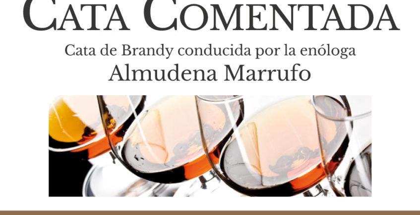 Cata de brandies en La Tapería Fundador