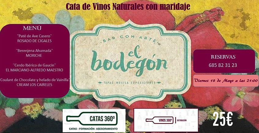 18 de mayo. Castellar. Cata de vinos naturales en El Bodegón
