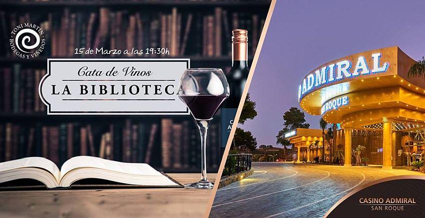15 de marzo. San Roque. Cata de vinos en el Casino Admiral