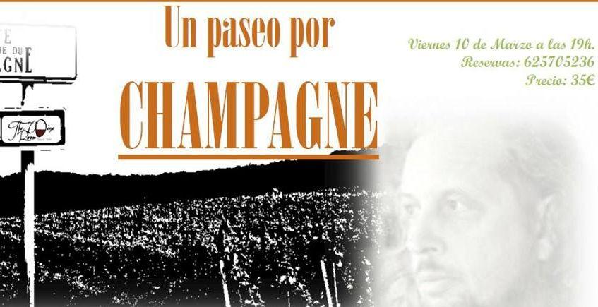 10 de marzo. San Fernando. Cata de champagne