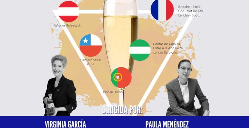 Cata-maridaje Burbujas por el Mundo en Gallopedro de Jerez