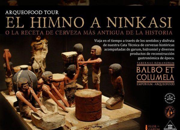 """Cata """"De Ninkasi a Baco. Historia de la cerveza"""""""