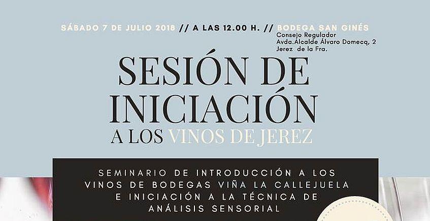 7 de julio. Jerez. Seminario de introducción a los vinos de Bodegas Viña La Callejuela