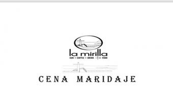 12 de julio. Cádiz. Cena Maridaje en La Mirilla
