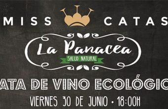 30 de junio. Jerez. Cata de vino ecológico en Panacea