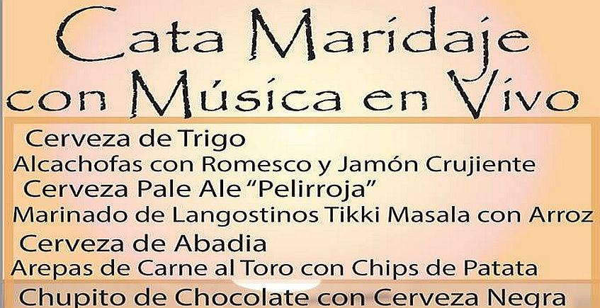 15 de marzo. Algodonales. Cata maridaje de cerveza con música en vivo en Bar el Canijo